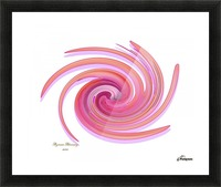 The whirl, W1.3A Picture Frame print
