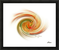 The whirl, W1.6A Picture Frame print