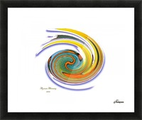 The whirl, W1.11A Picture Frame print
