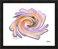 The whirl, W1.8A Picture Frame print