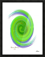 The whirl, W7.1A Picture Frame print