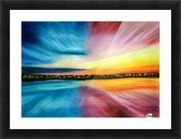 Divine Beautitude Picture Frame print