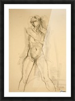 Female Nude Study Picture Frame print