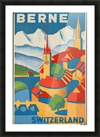 Berne Switzerland Picture Frame print