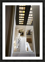 Lincoln Memorial Picture Frame print