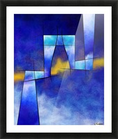 Kefharia V1 - cubic vision Picture Frame print