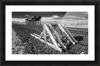 Refuelling Point  Picture Frame print