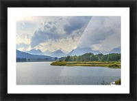 High Country Storm Picture Frame print