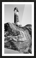 Lighthouse on Twisted Rock Picture Frame print