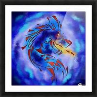 Glenfbach V1 - mystic dragon Picture Frame print