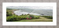 Chilling at Cap Lemoine Picture Frame print