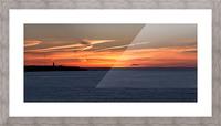 Orange Skies Picture Frame print