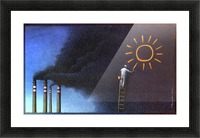 Sun Picture Frame print