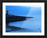 Evening fishing Picture Frame print