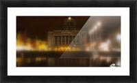 Nottingham council house Picture Frame print