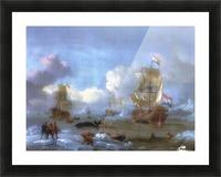 Walfang im Eismeer Picture Frame print