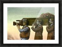 war correspondent Picture Frame print