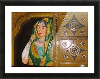 World View Picture Frame print
