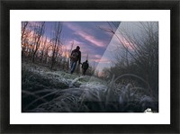 Under cover  Picture Frame print