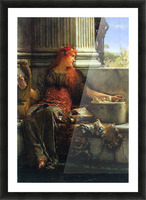 Poesie by Alma-Tadema Picture Frame print