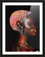 Nzinga Picture Frame print