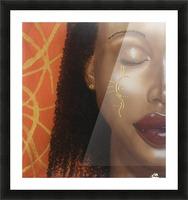 Orange Picture Frame print