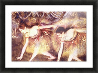 Two Dancers by Degas Picture Frame print