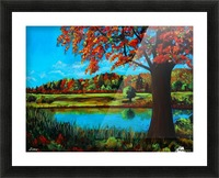 Autumn Song Picture Frame print