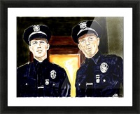 Cops  by J Gregory Picture Frame print