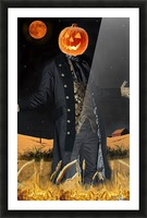 Pumpkinhead by J Gregory Picture Frame print