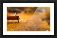 Waiting Picture Frame print