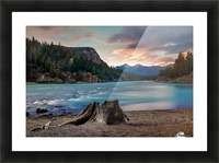 Bow River Picture Frame print
