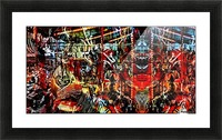 The World  Becomes a Blur Picture Frame print