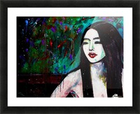 Asian Girl Picture Frame print