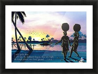 Riverside Maidens Picture Frame print
