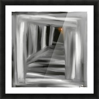 To the unknown  Picture Frame print