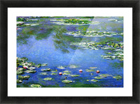 Water Lilies by Monet Picture Frame print