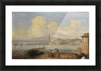 Bucht von Neapel 1855 Picture Frame print