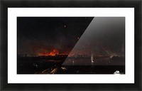 Bombardment of Marghera on the Night of May 24, 1849 Picture Frame print