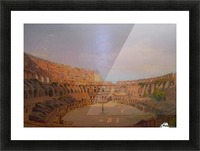 Interior of the Colosseum, 1857 Picture Frame print