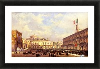 Napoli, 1860 Picture Frame print