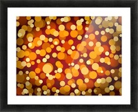 Abstract Background Party Lights Party Lights Picture Frame print