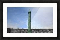 Paris Vendome Picture Frame print
