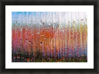 Glass Colorful Abstract Background Color Drip Picture Frame print