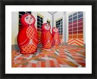 Matryoshka Picture Frame print
