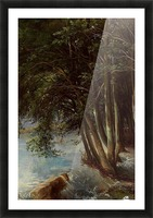 A lovely forest Picture Frame print