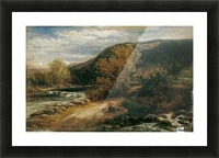 A river from the mountains Picture Frame print