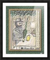 art   pinchos   sukah   lulav   esrog  3D 1 Picture Frame print
