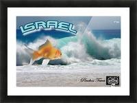 art israel ocean  2 Picture Frame print