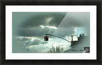 ART  sky   cloudy 3   Picture Frame print